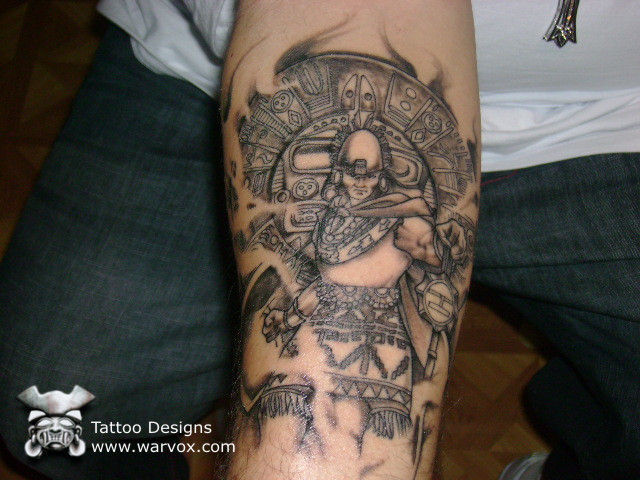 aztec tattoos. to purchase this tattoo design